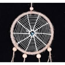 How To Make A Spider Web Dream Catcher Creative Spider Web Design Dream Catcher Net with White Feather 48