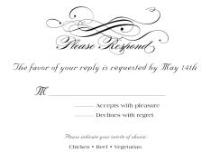 plain rsvp cards wedding rsvp cards by 123print