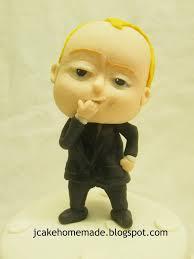 Jcakehomemade Boss Baby Birthday Cake 波士bb 蛋糕
