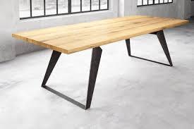 Esstisch Holz Stahl Rewi Eiche Nach Maß