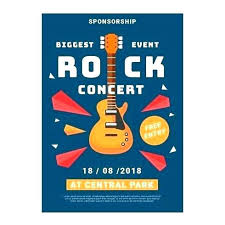 Concert Flyer Template For Word Free Concert Flyer Template Rock Poster Templates Word For Party Mus