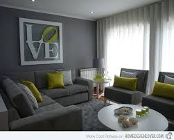 gray and green living room. grey sofa, gray sectional, living room, love the green pops \u0026 that sign! and room pinterest