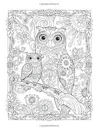 owl coloring books