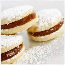 Peruvian Desserts Dulce De Leche Mini Alfajor Cookies Box Of 12