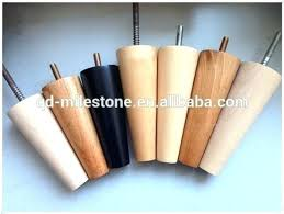 wooden table leg casters wood furniture legs custom tapered birch sofa or chair turned with