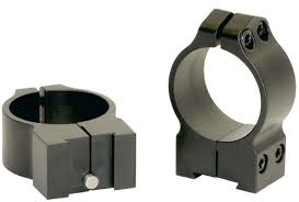 Warne Maxima Scope Rings For Ruger M77 1 Inch High 2r7m