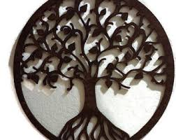 seed of life wall art raw wood home decor by lessegomorelove on wall art tree of life wooden with seed of life wall art raw wood home decor laser cut wood giant