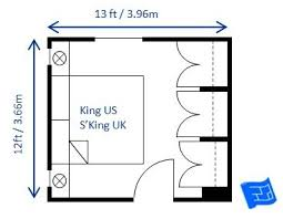 This 14 X King Size Bedroom Includes Space For U0027comfortu0027 Amounts Of  Circulation Space   But Thereu0027s No Excess Space.