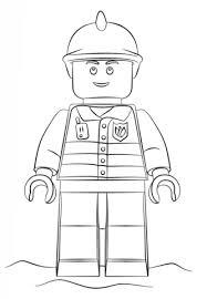 Clarinsbaybloorblogspotcom Kleurplaten Lego City Brandweer