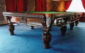 antique snooker dining tables uk. decoratively carved antique snooker table dining tables uk d