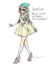 Hipster Drawings Lolita Hipster By Noflutter Deviantart Com On Deviantart Its That