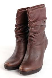 top womens uk size 6 eu 39 brown leather slouch boots