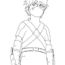 Small Picture Kakashi Coloring Coloring Coloring Pages