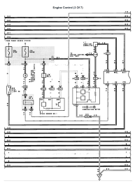 lexus v8 1uzfe wiring diagrams for lexus ls400 1992 engine engine control 3 of 7 page 001