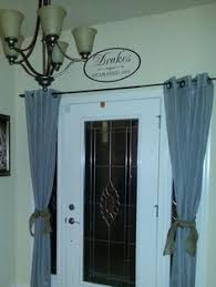 front door side window curtainsHow to Make Modern Curtains for Sidelight Windows  Sidelight