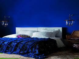 Blue Bedrooms Decorating Royal Blue Walls