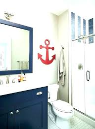 Boat Decor Accessories Mesmerizing Nautical Bathroom Decor Sets Anchor Bathroom Decor Boat Themed