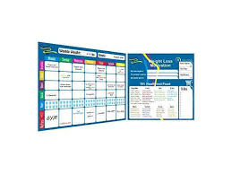 Weekly Meal Planner And Tracker Dry Erase Board Refrigerator Calendar Food Diary Tracks Water Healthy Snacks And Weight Loss Magnetic Diet Smart