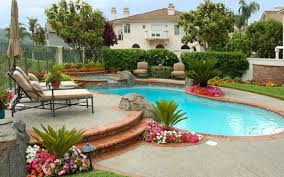 Beautiful Backyard Pools Captivating Backyard Pool And Patio