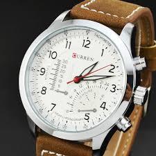 aliexpress com buy luxury curren brand watch men ese import aliexpress com buy luxury curren brand watch men ese import movement leather watches men casual sports wristwatch 30m waterproof heren horloge from