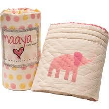 Organic, handmade baby blankets that look like no others & Handmade organic baby quilt from Naaya by Moonlight Adamdwight.com