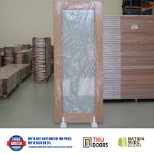 1 lite frosted safety glass french solid timber doors internal external hardwood