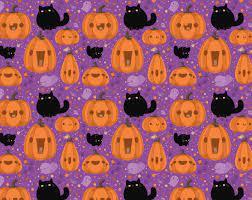 Cute Halloween Purple Wallpapers ...