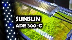 Sun Sun Led Light Sunsun Ade 300c Plafoniera Led Light
