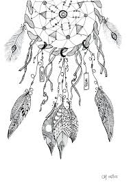 Dream Catcher Stress Colouring Book Coloring Pages Free To Print