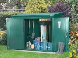 6 x 3 high security metal garden shed