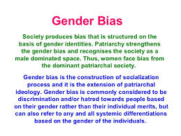 gender bias certainly exists become more aware of it gender  gender bias certainly exists become more aware of it