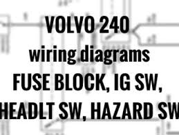 1991 volvo 240 wiring diagram 1991 image wiring volvo 240 wiring diagrams engine compartment headlights grid on 1991 volvo 240 wiring diagram