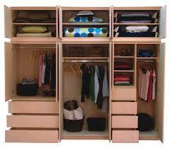 wooden ikea closet organizers