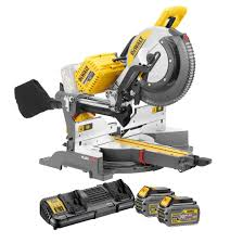 dewalt cordless miter saw. dewalt dhs780t2-gb 305mm 12 2x 54v flexvolt cordless mitre saw inc dcb546 batteries | powertool world dewalt miter