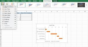 How To Create A Gantt Chart In Excel 2017 Free Gantt Charts In Excel Templates Tutorial Video
