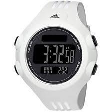adidas running watch new adidas mens questra xl black dial digital sports chronograph watch white