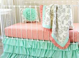 country crib bedding vintage style nursery french baby girl