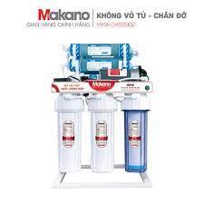 Máy lọc nước RO tinh khiết không vỏ tủ Makano MKW-34009D2 - Màng RO Korea,  9 cấp lọc, dùng chân đỡ - Miễn phí lắp đặt chính hãng