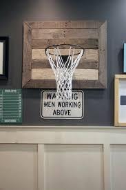 basketball hoop diy man cave ideas