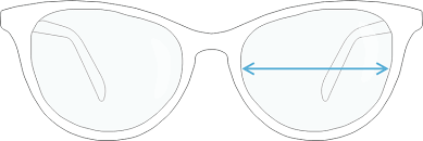 Sunglasses Frame Size Chart How To Measure Your Eyeglasses Frame Size Guide Marvel