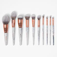 new bh cosmetics marble luxe 10 piece brush set bh cosmetics llc