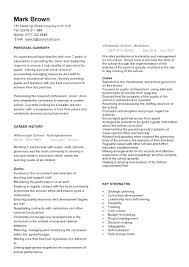 Teacher Resume Templates Free Teacher Resume Templates Download