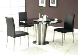 dining room table sets modern round dining table set with leaf extension minimalist dining room style