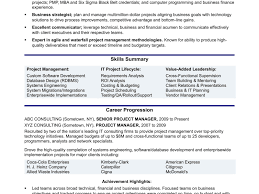 Project Manager Construction Resumes Junior Projecter Cv Example Uk Construction Experienced It Project