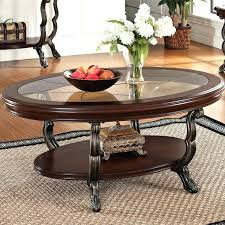 ashley furniture glass top coffee table s black round with stools