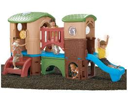 step2 outdoor clubhouse climber with slide