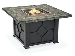 42 square coffee table square cast aluminum fire pit coffee slate top 42 square glass coffee
