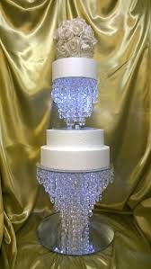 chandelier cake stand like this item crystal uk chandelier cake stand