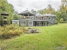 superbe maison au bord du lac memprémagog à stanstead estrie