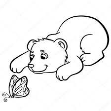 Kleurplaten Dieren Beren